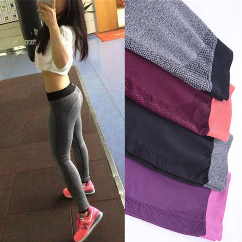 New Women Yoga Clothing Sports Pants Legging Tights Workout Sport Fitness Bodybuilding And Clothes Running Leggings For Female(China (Mainland))