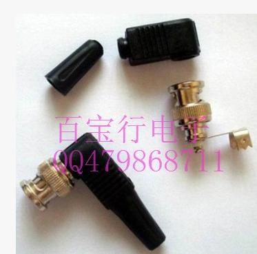 Feeder BNC curved glue monitoring video connector Q9 joint monitoring accessories 75-5 surveillance video connectors(China (Mainland))