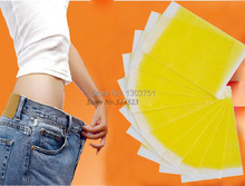Fast slimming 10 pcs No-diet Weight Loss Slimming Patch YELLOW color