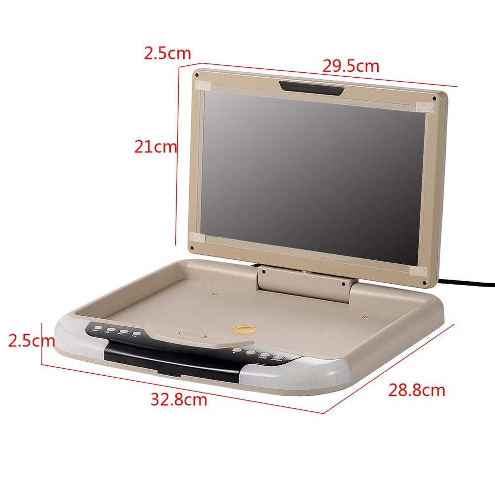 Купить 13 дюймов TFT LCD Flip Down Монитор Крыше Автомобиля Установлен Монитор Бежевый
