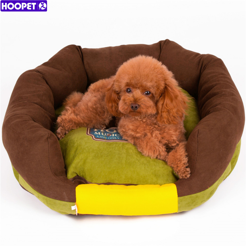 HOOPET All Seasons Dirt-resistant Bolster Sofa Pet Dog Cat Bed,Removable & Washable Cover Cushion with Zipper Pet Mattress(China (Mainland))