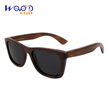 bamboo sunglasses 2016 fashion polarized sunglasses popular new design wooden sunglasses for free shipping(China (Mainland))