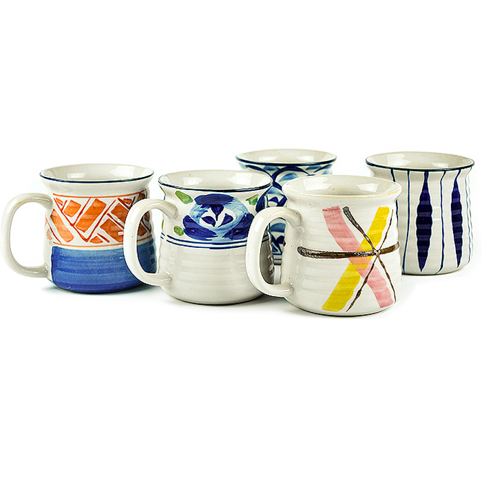 With Japanese style and hand-painted tableware of large capacity water beer mug cup ceramic cup cup coarse pottery lovers<br><br>Aliexpress