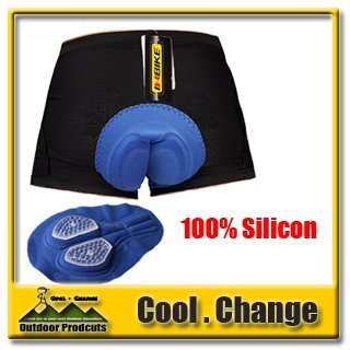 Cool Change 2014 New Cycling Underwear 3D Silicon Padded Bike/Bicycle Shorts/Pants/Boxer Dry-Quick  Free Shipping