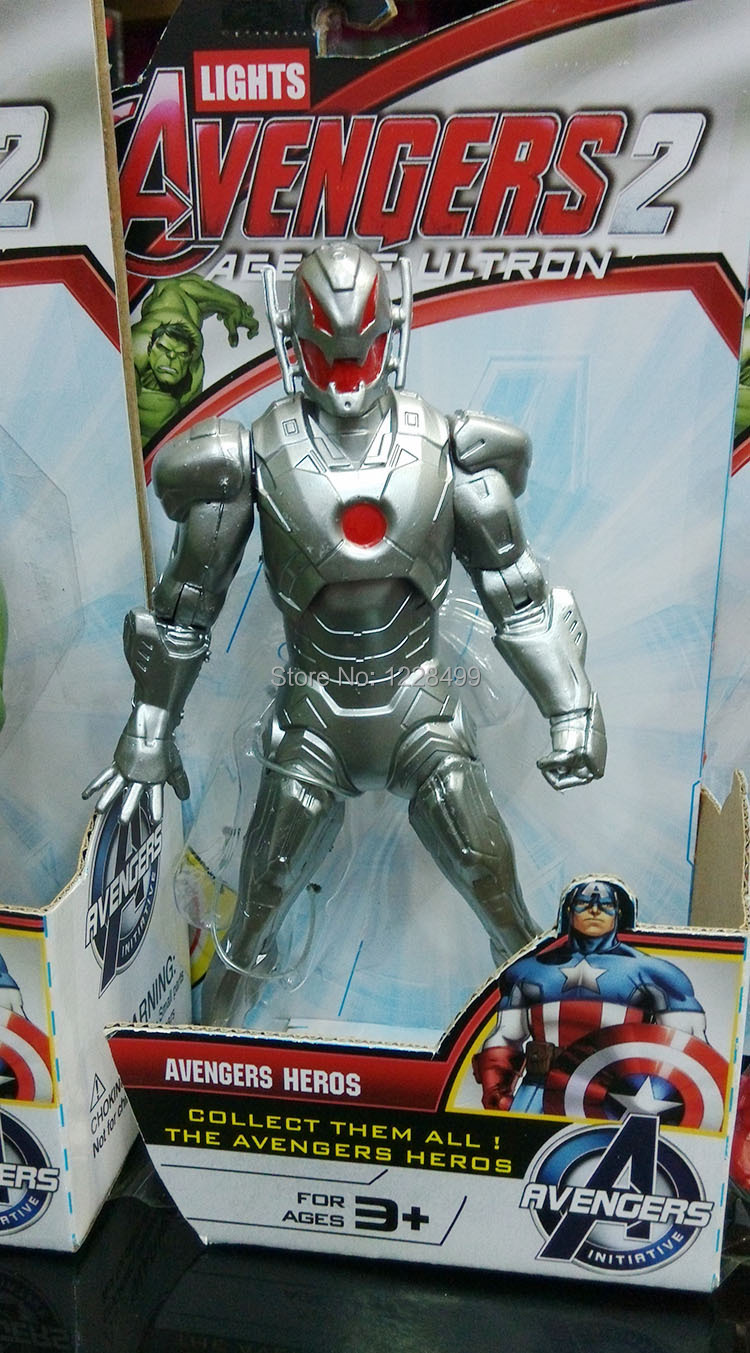1PC 2015 New Marvel Movie Avengers 2 Age of Ultron Figure Toys Doll/ Leg and Arm can be movable together(China (Mainland))
