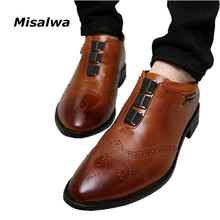 Buy New 2017 Oxford Business Shoes Men Dress Shoes Leather Office Shoes Summer Spring Zapatos Hombre Black Mens Oxfords for $37.92 in AliExpress store