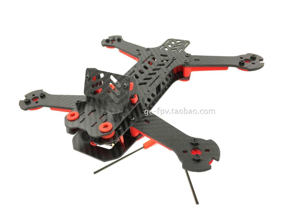 GE-FPV VOR250 Carbon Fiber GE-FPV RC Quadcopter Frame Kit