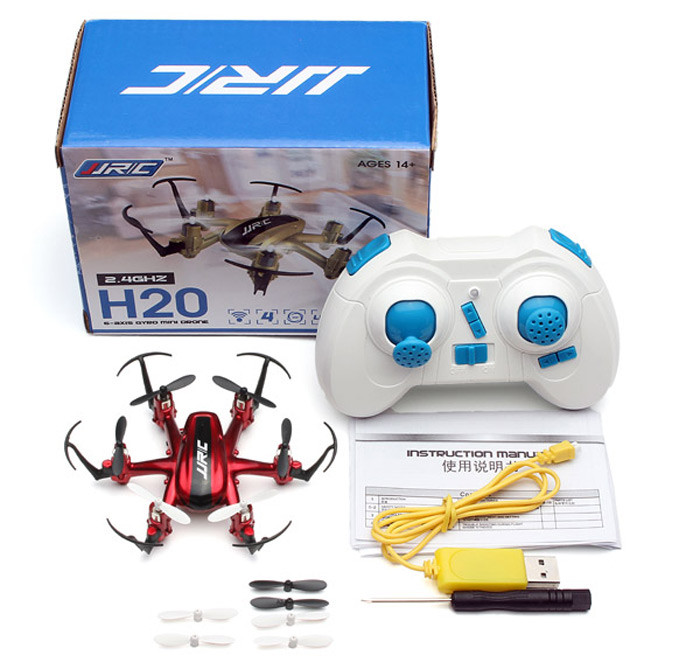 JJRC Nano Hexacopter One-key-return RC Drone 2.4G 4CH 6Axis Quadcopter 3D Rollover Headless Model Remote Control Helicopter dron