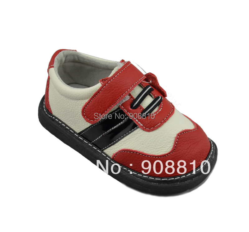 baby shoes boys red genuine leather sneakers 2013 New,retail and wholesale free shipping<br><br>Aliexpress