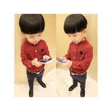 Sd511 spring summer baby boy clothes boy shirts long sleeve tees fashion summer bay boy clothing children clothes shirt boy4-12Y