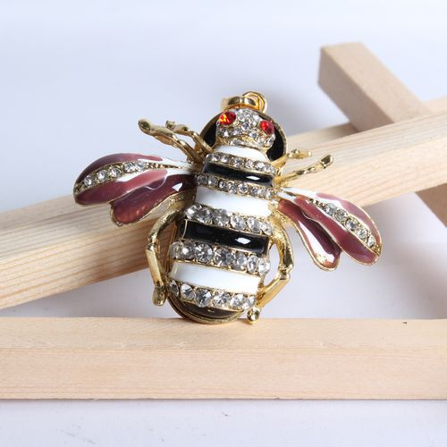 jewelry usb gadgets necklace 8gb 16gb 32gb Bee animal crystal usb flash drive flash usb drive pendrives usb memory gift()
