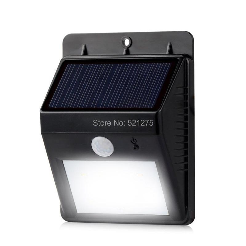 Outdoor Porch Security Lighting For Dark Winter Nights: 8led Solar Garden Light Outdoor Solar Lamp Security