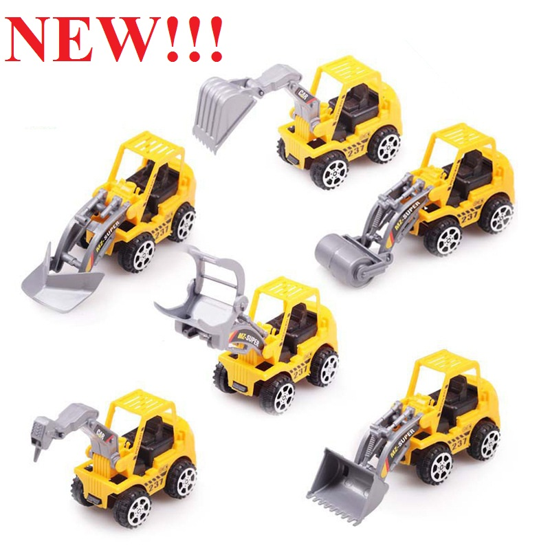 HOT SALES Best Gift Truck model toy 6 kinds of style Cute car Toy for Child Mini Car Model Kids Toys(China (Mainland))