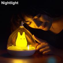 Novelty Luminaria De Mesa Power Bank Lamparas Led Nightlight 5V 3D Lamp USB LED Night Lamp Portable Touch Sensor Totoro Lamps