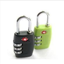 Resettable 3 Digit Combination Travel Luggage Suitcase Lock Padlock 2015 hot sale free shipping