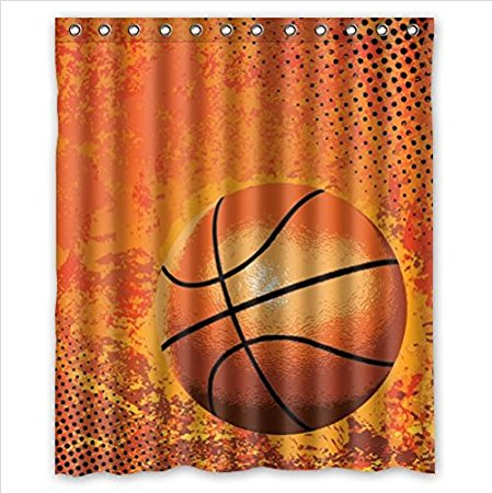 Compare Prices on Basketball Shower Curtain- Online Shopping/Buy ...