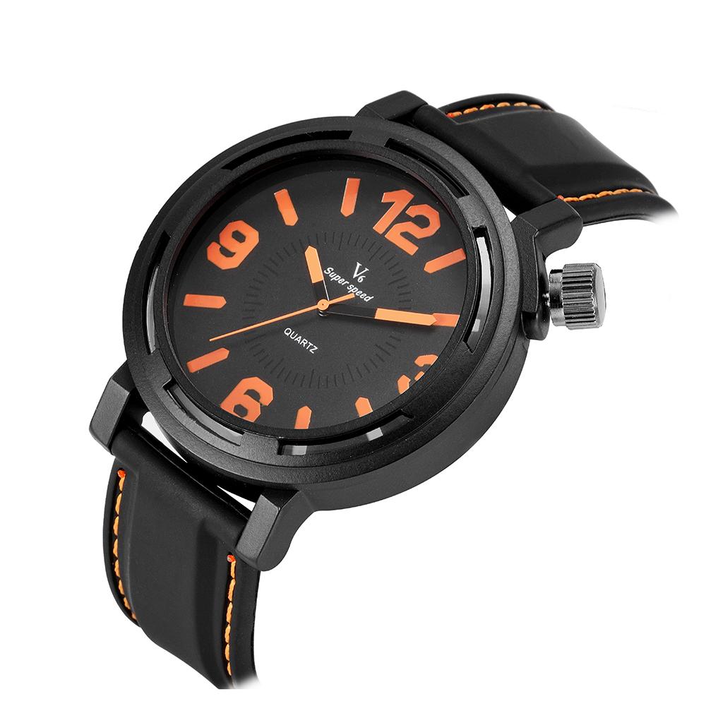 BGG watch New Arrival V6 Brand big dial Men watch military fashion silicone watches male quartz sports wristwatch student clock<br><br>Aliexpress
