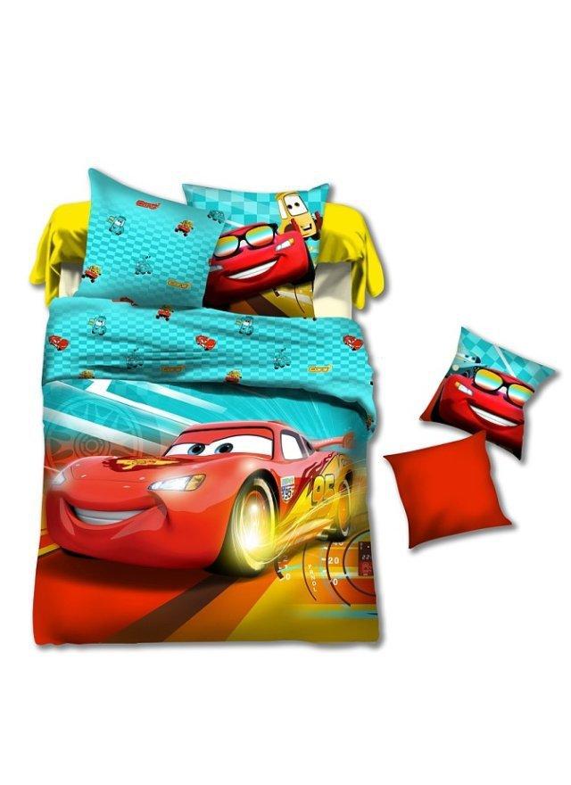 race cars kids boys cartoon bedding comforter set sets