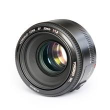 Buy YONGNUO YN 50mm YN50mm F1.8 Lens Large Aperture Auto Focus Lens Canon EOS 60D 70D 5D2 5D3 7D2 750D DSLR Cameras for $54.40 in AliExpress store