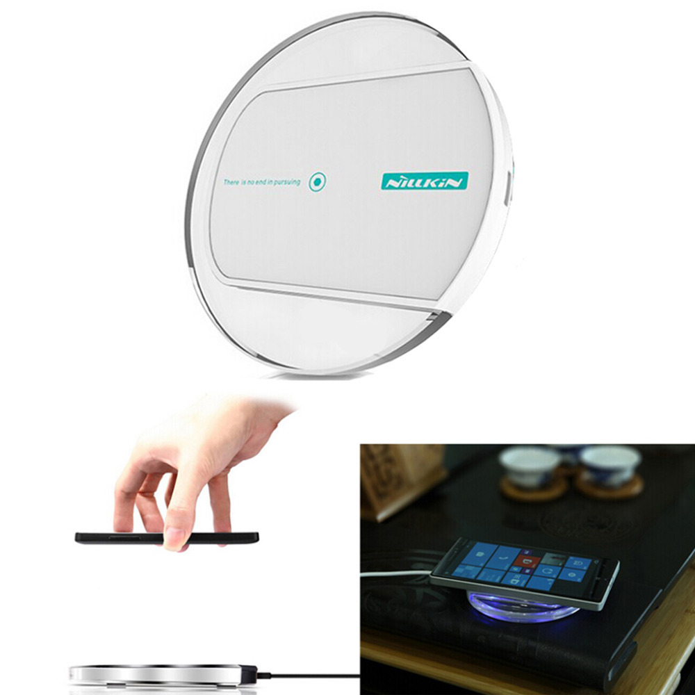 Qi Wireless Charger Nillkin Magic Disk 2 Qi Wireless Charger Charging Pad for Nexus LG Nokia Lumia Samsung Wireless Charger Pad(China (Mainland))