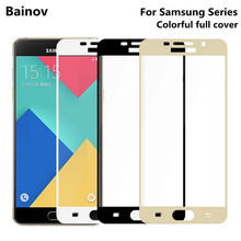 Buy Bainov Full Cover Tempered Glass Samsung Galaxy S6 S7 J5 J7 Prime Note 5 Galaxy A3 A5 A7 2016 2017 Screen Protector Film for $1.10 in AliExpress store