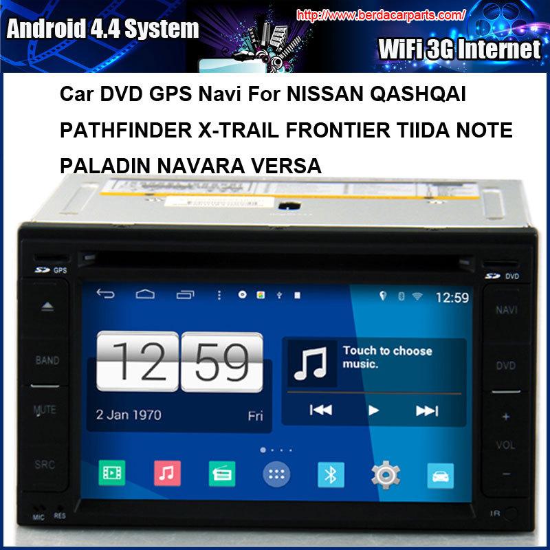 Universal Android 4 4 font b Car b font DVD GPS Navi Radio For NISSAN QASHQAI