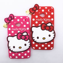 Buy New 3D Cartoon Hello Kitty Case Soft Silicon Back Cover HTC One M7 Rubber Phone Shell for $2.83 in AliExpress store