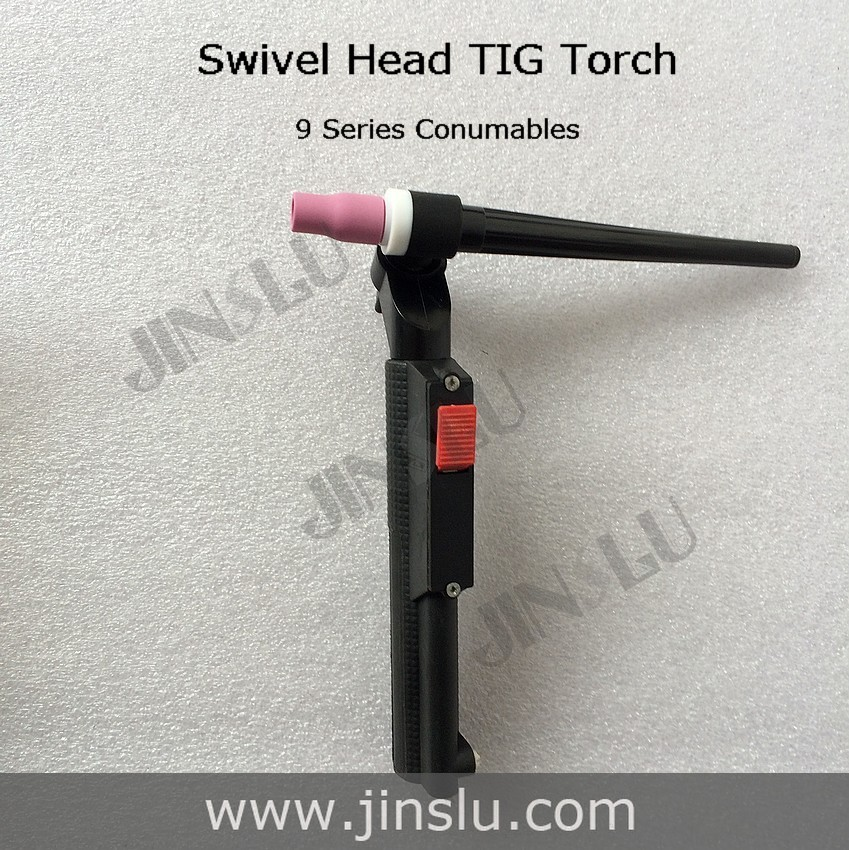 GZ1/4 Swivel Head TIG Torch Consumables Head Body wp 9 series consumables(China (Mainland))
