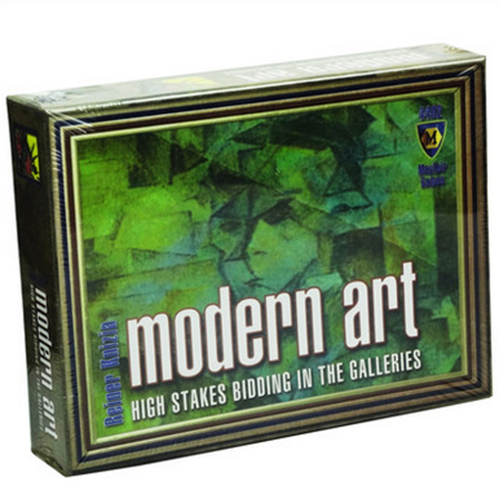 portable table game modern art hardcover chinese & english version for 3-5 person board game free shipping