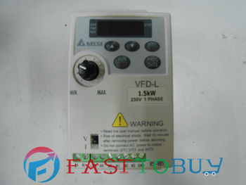 Delta AC Motor Drive Inverter VFD015L21W VFD-L Series 2HP 1 phase 220V 1500W New Free shipping
