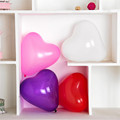 100PCs 10 Big Heart Pure Color Wedding Birthday Party Decoration Globos Party Balloon Home Decor Event