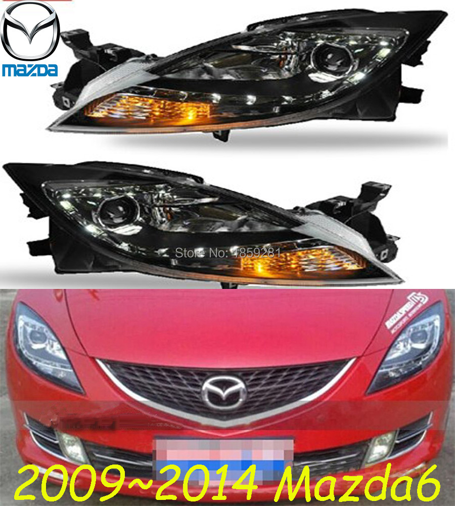 Mazd6 headlight,2009~2013,(LHD,RHD need add 200USD),Free ship! MAZD6 fog light,2ps/set+2pcs Aozoom Ballast, CX-5,Atenza