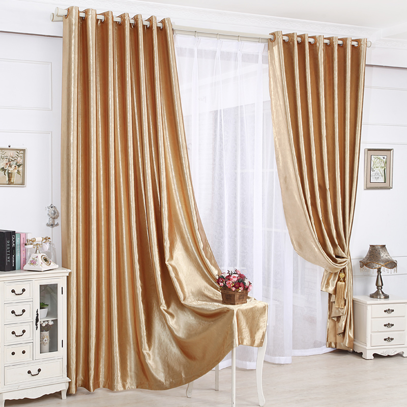 New arrival modern window curtains for living room for Modern drapes window treatment