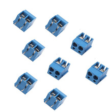 1Set 20pcs KF128-2P 2-Pin Plug-in Terminal Block Connector 5.08mm Pitch PCB Mount Free Shipping