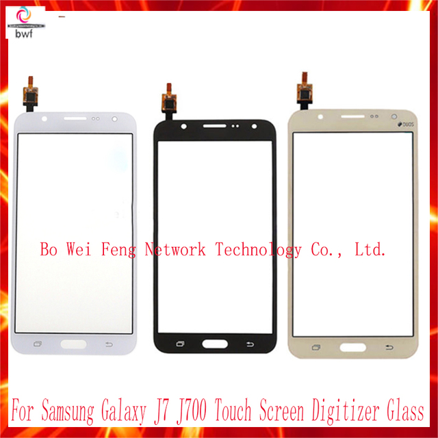 high quality free shipping 5 5 for for samsung galaxy j7 j700 touch screen digitizer glass