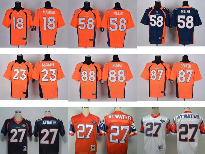 NO-3 New Arrivals Free shipping Best quality Denver Broncos all players 23 style size S-XXXL(China (Mainland))