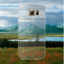 Free Shipping Back Phone Cases for Samsung Galaxy S6 edge Cover Half Clear Soft Ultra Thin