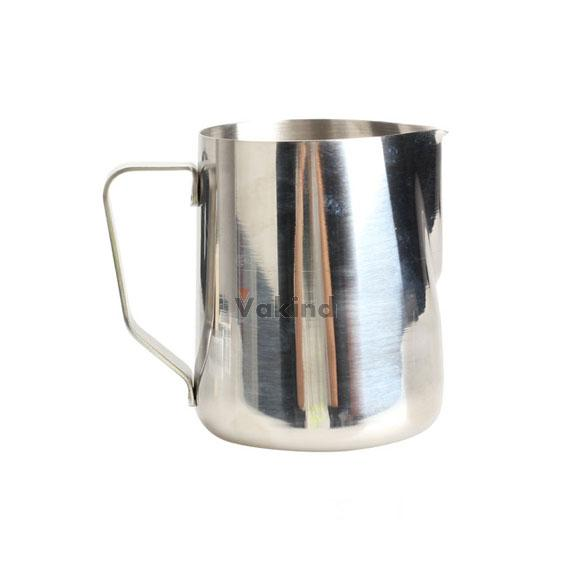V1NF 350ml Stainless Steel Kitchen Home Handle Coffee Garland Cup Latte Jug