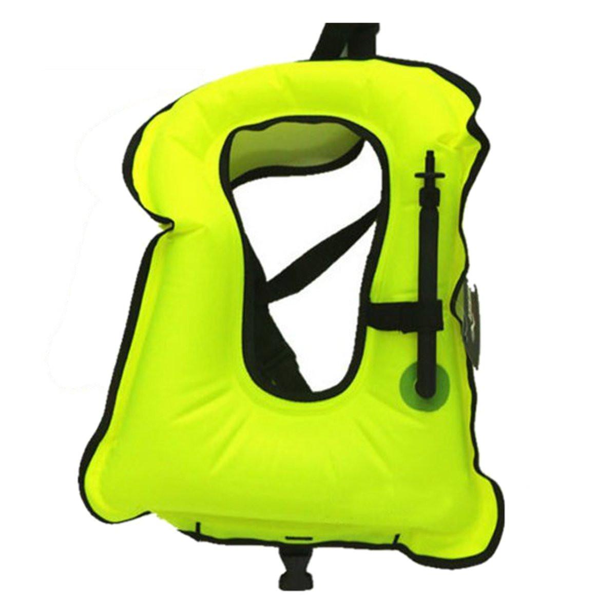 Free shipping Inflatable life jacket Super light Buoyancy vest Float ring swim Snorkeling dive suit Equipment swim Adult Kids(China (Mainland))