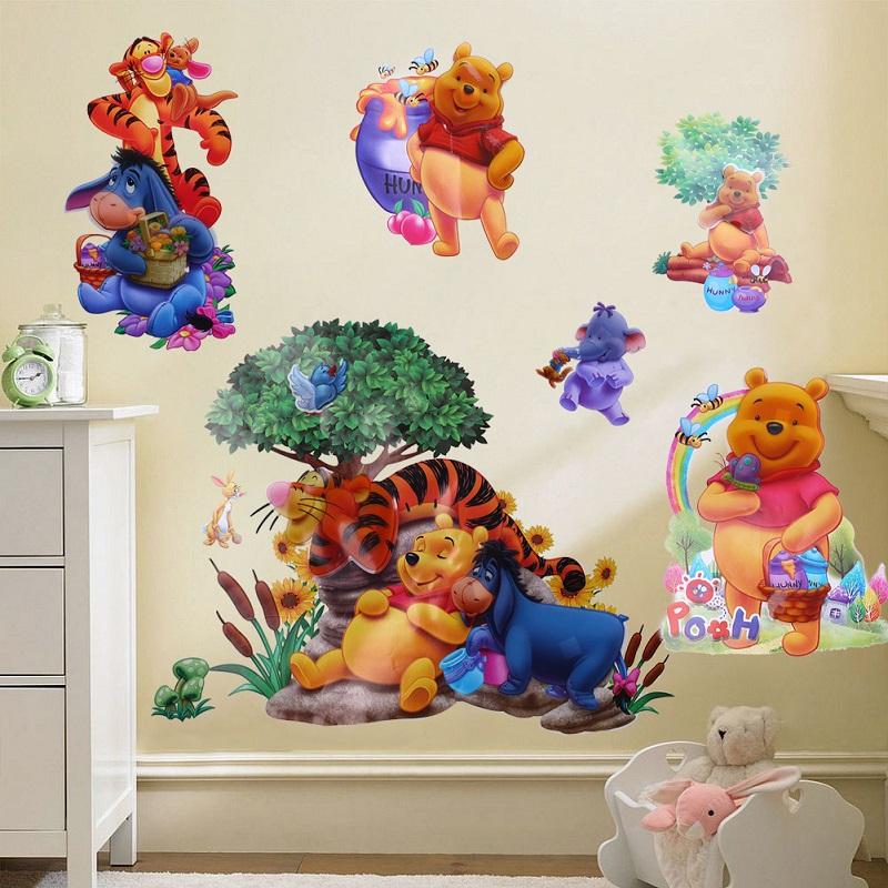 Pooh decoraci n compra lotes baratos de pooh decoraci n for Cuarto winnie pooh