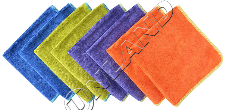 (pack of 8 Pieces) 4 Colors 36cmx36cm Micro fiber Towel Kitchen Cleaning Cloths Microfiber fabric(China (Mainland))