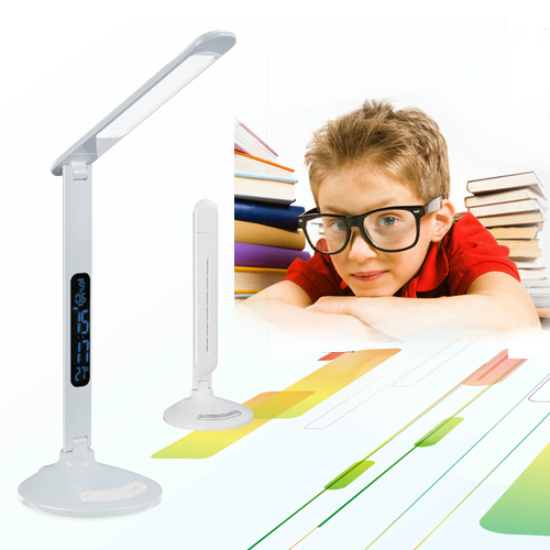Modern Design Multi-functional LED Eye Protection Desk Lamp Gooseneck USB Touch Switch Office Work Bedroom Study(China (Mainland))