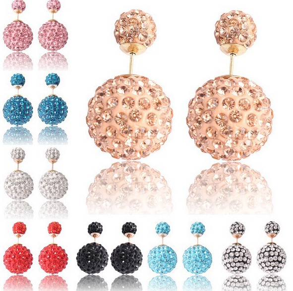 Brand Hot Selling Fashion Christmas wedding New Big Double Pearl Earrings Women XY-E774 - XY Jewelry Company (Min order $8 store)