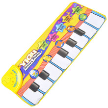 New Touch Play Keyboard Musical Music Singing Gym Carpet Mat Best Kids Baby Gift 39(China (Mainland))
