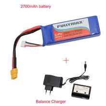 Free Shipping! 1X Battery + Charger & Balance Charger For Cheerson CX-20 Quadcopter Drone Parts