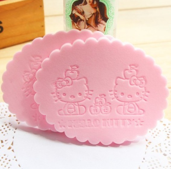 Min Order $10(mixed order) Creative cartoon exquisite cleansing sponge(China (Mainland))