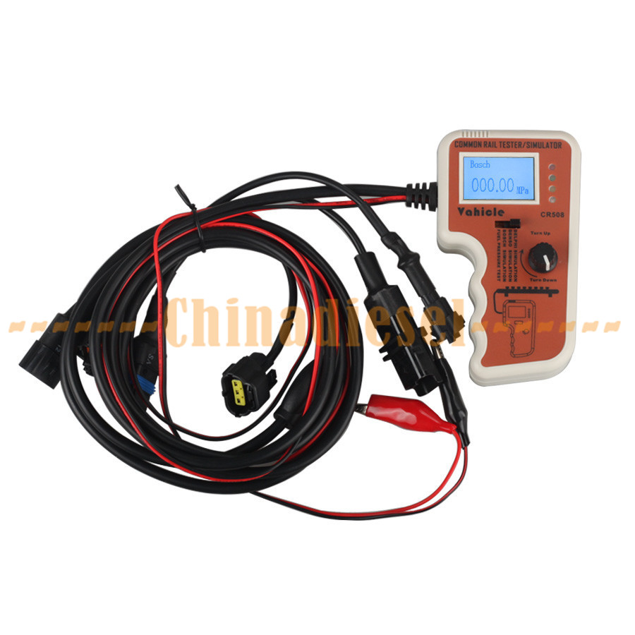 For Denso/BOSCH/Delphi Common Rail Cr508 Pressure Tester and Simulatorby Rail Pressure Tester Drop Ship(China (Mainland))