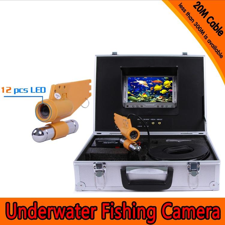 Underwater camera fishing HD underwater camera underwater detector video fishing probe(China (Mainland))