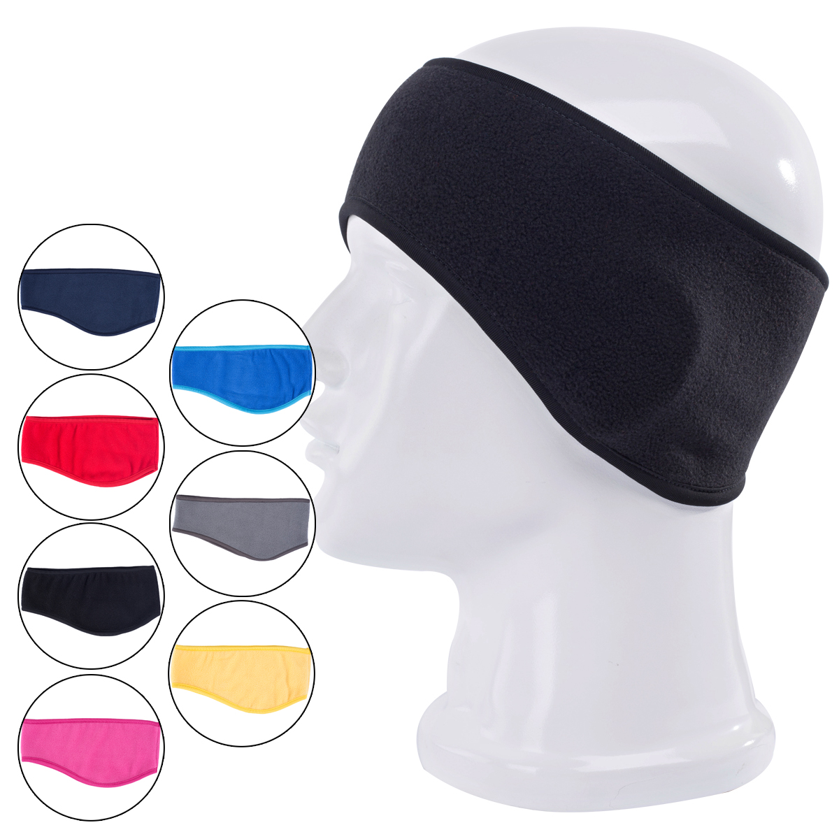 Unisex Women Men Headwear Ear Warm Winter Head Band Polar Fleece Ski Ear Muff Stretch Spandex Hair Band Accessories(China (Mainland))