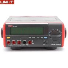 UNI-T UT803 100kHz True RMS Bench Type  Multimeter With RS232C USB Interface, LCD Backlight Display, Data Hold, Auto-Ranging